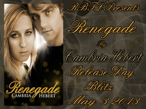 Renegade Release Day Banner