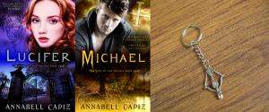 Books and keychain